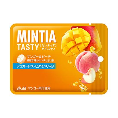 「ミンティアテイスティ マンゴー&ピーチ」発売(アサヒグループ食品)