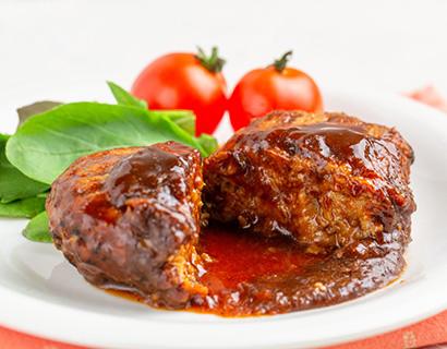 食肉加工品特集:注目素材=日油「クックリッチ」 2次加熱で油脂放出