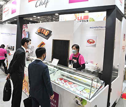 FABEX2021:日仏貿易 一味違うデザート「フランスデセール」 着色せず…