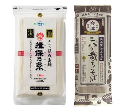 全国麺類特集:東北地区問屋=日本アクセス南東北支店 人気高まる高配合そばの多…