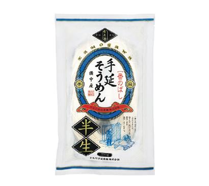 全国麺類特集:岡山・愛媛地区=かも川手延素麺 半生タイプが伸長