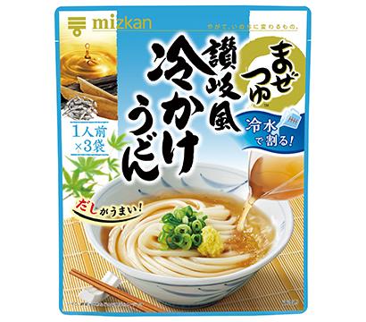 全国麺類特集:関東めんつゆ=Mizkan 簡便な「まぜつゆ」拡大