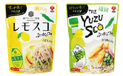 全国麺類特集:中部めんつゆ=盛田 辛みとさっぱり味 夏場のめんつゆ2品投入