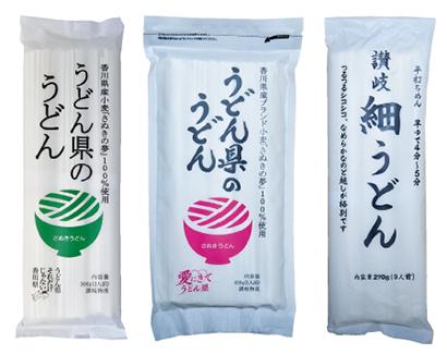全国麺類特集:讃岐地区機械麺=讃岐物産 うどん県のうどん大容量版450gで販…
