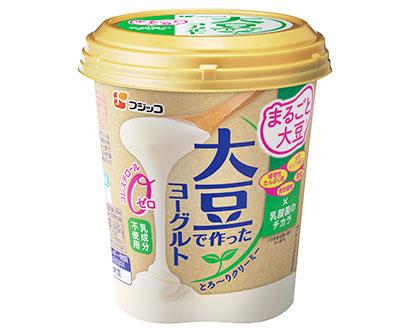 ヨーグルト・乳酸菌飲料特集:フジッコ 「大豆で作ったヨーグルト」さらなる認知…