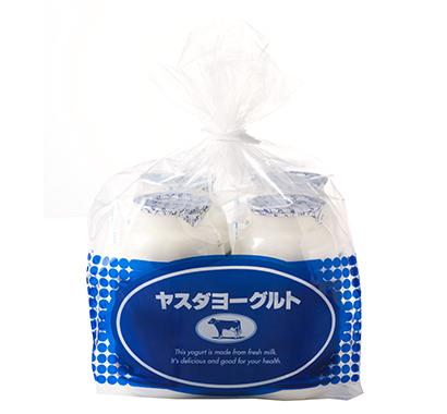 ヨーグルト・乳酸菌飲料特集:ヤスダヨーグルト 買い得感高い袋詰め販促を推進