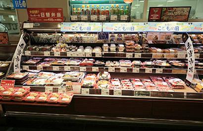 弁当などは月に1回、新商品を開発