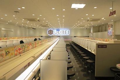 レーンのない寿司店の先駆けとなる元気寿司の「魚べい」