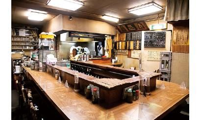 【うなぎ店:うな達】昭和49年創業の風情ある店内。夜はうなぎ串で一杯飲める居酒屋として親しまれている