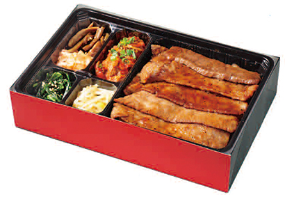 この焼肉弁当箱に注目! 計算し尽くされた焼肉専用! 使い勝手と高級感を両立