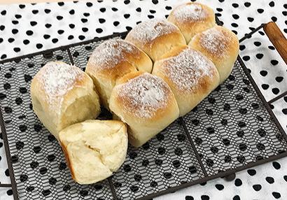 牛乳パックで作った「ちぎりパン」
