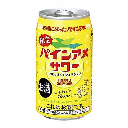 「パインアメサワー」発売(三菱食品)
