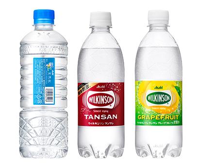 ミネラルウオーター・炭酸水特集:アサヒ飲料 環境配慮の「ecoラベル」