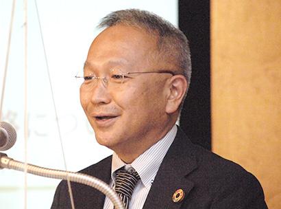 食品経営者フォーラム、川合豊彦氏が講演 2050年に向けた長期目標策定 持続…