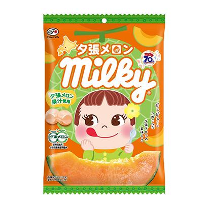 「夕張メロン ミルキー」発売(不二家)
