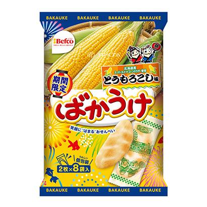 「ばかうけ とうもろこし味」発売(栗山米菓)