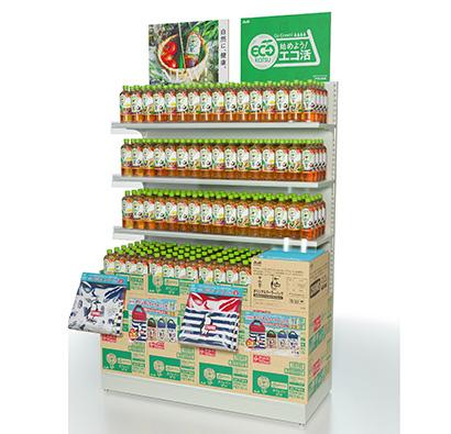 """アサヒ飲料、""""エコ活""""テーマに環境配慮品で売場を 消費者インサイト対応"""