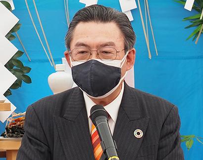 吉田康社長