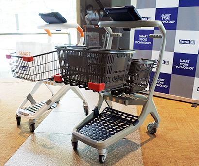トライアルグループ・リテールAI、次世代ショッピングカートを月額プランで外販