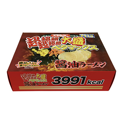 「ペヤング 超超超超超超大盛ペタマックス 醤油ラーメン」発売(まるか食品)