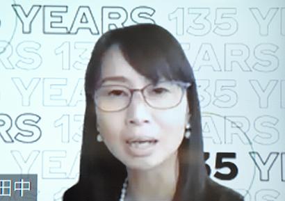 田中美代子日本コカ・コーラ広報・渉外&サスティナビリティー推進本部副社長