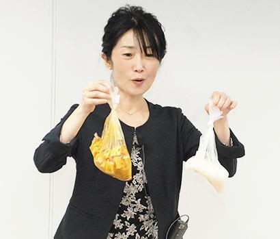 食品産業文化振興会、今泉マユ子氏が講演 好きな食品食べて災害備え