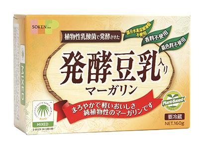マーガリン類特集:創健社 「発酵豆乳入りマーガリン」菓子作り需要増で好調