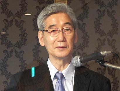 食品経営者フォーラム、堀田国元氏が講演 次亜塩素酸水、電解法と二液混合法の違…