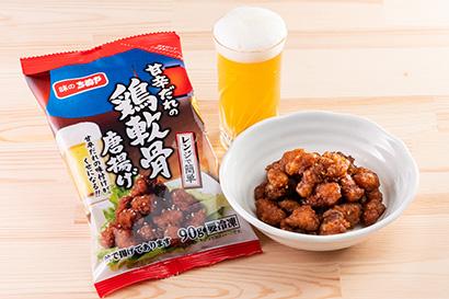 冷凍食品特集:味のちぬや 「鶏なんこつ唐揚げ」好評 新たに甘辛だれ投入