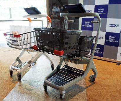 トライアルグループ、次世代レジカートを開発 月額制プランで外販