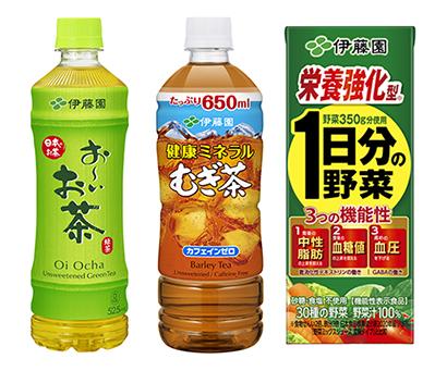 清涼飲料特集:伊藤園 「健康」軸に新価値を ドリンクとリーフ連動