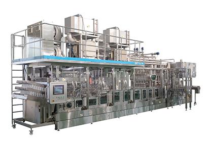 清涼飲料特集:業界支える機械・資材=四国化工機 生産能力2倍、カップ用無菌充…