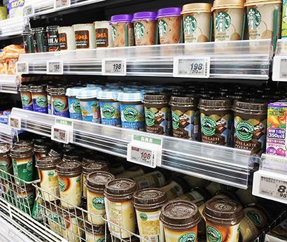 清涼飲料特集:チルドカップコーヒー 癒やし・ぜいたく、価値の幅拡大