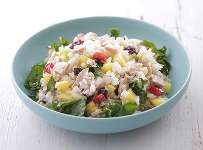 シズラー、「カルローズ」使用サラダ提供