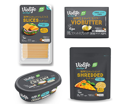 J-オイルミルズ、乳系PBF市場本格参入 世界ブランド「Violife」展開