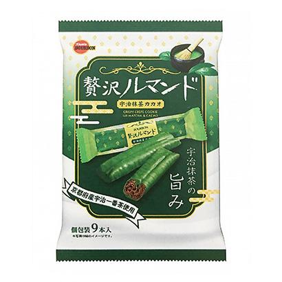 「贅沢ルマンド 宇治抹茶カカオ」発売(ブルボン)