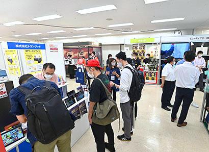 焼肉ビジネスフェア2021:東京会場 146社の多様な商品で活気