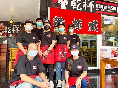 海外日本食 成功の分水嶺(127)日本式焼肉&寿司居酒屋「乾杯2」〈上〉