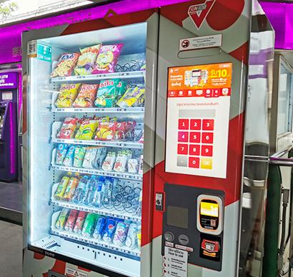 タイ、急ピッチで進む自動販売機設置 飲料に加え対コロナ品も