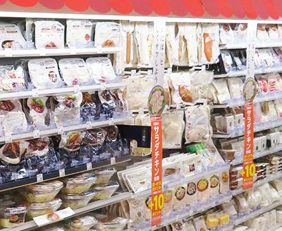 パウチ惣菜特集:CVS 内食追い風に伸長 提案力高めて商品力磨く