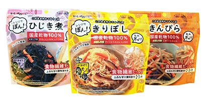 東北乾物・乾麺特集:三菱食品東北支社 「レンジでぽん!」3品、東北で徐々に拡…