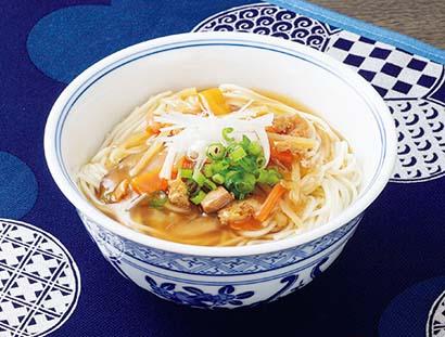 東北乾物・乾麺特集:宮城の郷土料理「おくずかけ」 法事のおもてなしにも