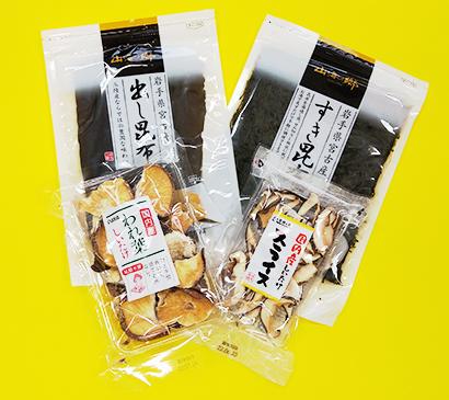 東北乾物・乾麺特集:国分東北 「山海の郷」が好調 各商品で明暗分かれる
