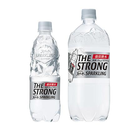「THE STRONG 天然水スパークリング」発売(サントリー食品インターナ…