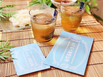 CHEZ SICA、そうめんと相性抜群の専用紅茶を限定発売