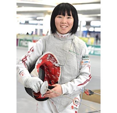 エア・ウォーター、フェンシング代表上野優佳選手支援でスポンサー契約