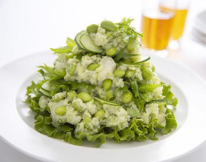 サラダカフェ、「だだちゃ豆のポテトサラダ」など夏限定おつまみ発売