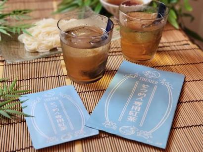 CHEZ SICA、「そうめん専用紅茶」発売 SNSで話題