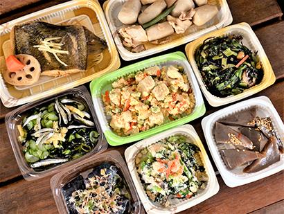 見た目にも食欲をそそる和惣菜