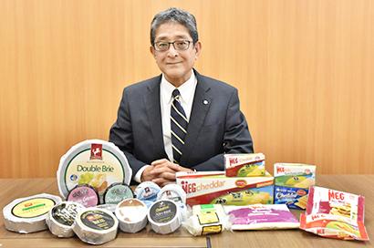 チーズ特集:雪印メグミルク・末安亮一常務執行役員に聞く チーズのグローバル展…